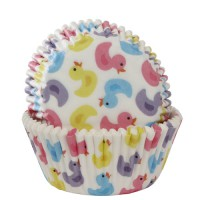 House of Marie Baking Cups Badeentjes (50st)