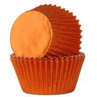 House of Marie Baking Cups Folie Brons (24st)
