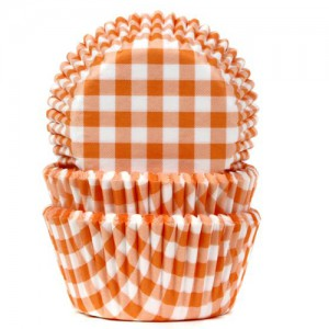 House of Marie Baking Cups Ruit Oranje(50st)