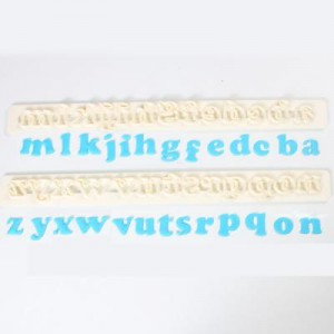 FMM Tappits Alphabet & Numbers Art Deco Lower Case