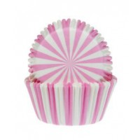 House of Marie Baking Cups Circus Pink -50st-