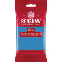 Renshaw Rolfondant Extra Turquoise -250gr-