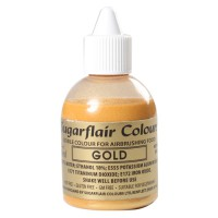 Sugarflair Airbrush Colouring Gold -60ml-