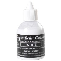 Sugarflair Airbrush Colouring White -60ml-