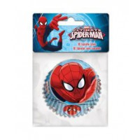 Stor Baking Cups Spiderman -60st-