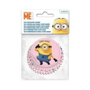 Stor Baking Cups Minions -60st-