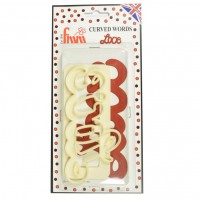 FMM Curved Words Cutter Love