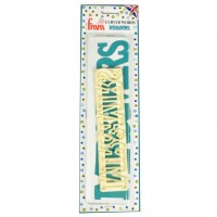 FMM Curved Words Cutter Mr&Mrs