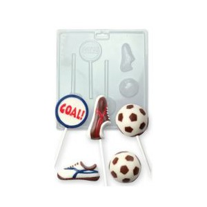 PME Chocolade Lolly Mal Voetbal