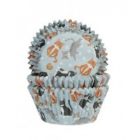 House of Marie Baking Cups Katten -50st-
