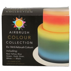 Sugarflair Airbrush Colour Collection -8x14ml-