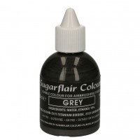 Sugarflair Airbrush Colouring Grey -60ml-