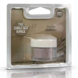 RD Edible Silk Shimmer Coffee -3gr-
