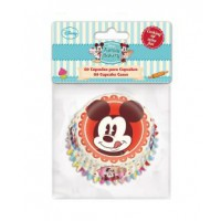 Stor Baking Cups Mickey -60st-