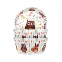 House of Marie Baking Cups Uil & Vos -50st-