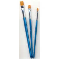 Hobby Brush Set Plat -3st-