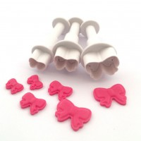Dekofee Plungers Mini Bows Set -3st-