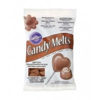 Wilton Candy Melts Light Cacoa -340gr-