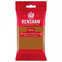 Renshaw Rolfondant Extra Teddy Bear Brown -250gr-