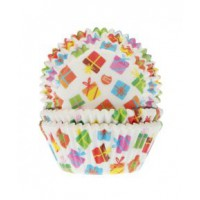 House of Marie Baking Cups Cadeaus -50st-