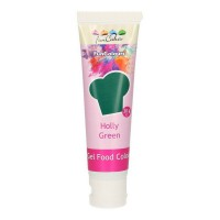 FunCakes Edible FunColours Gel Holly Green -30gr-