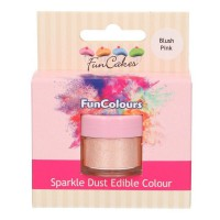 FunCakes Edible FunColours Sparkle Dust Blush Pink