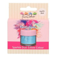 FunCakes Edible FunColours Sparkle Dust Pacific Blue