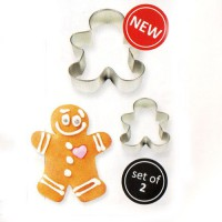 PME Cookie Cutter Gingerbread Man Set -2st-