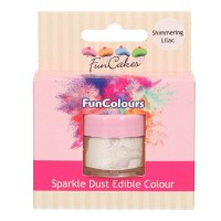 FunCakes Edible FunColours Sparkle Dust Shimmering Lilac