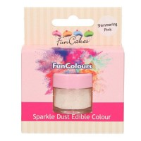 FunCakes Edible FunColours Sparkle Dust Shimmering Pink