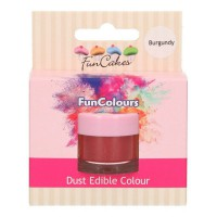 FunCakes Edible Dust Burgundy