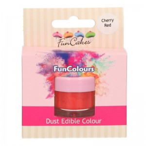 FunCakes Edible FunColours Dust Cherry Red