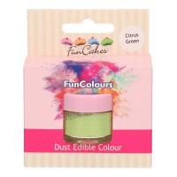 FunCakes Edible Dust Citrus Green