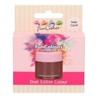 FunCakes Edible FunColours Dust Claret