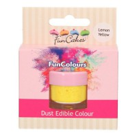 FunCakes Edible Dust Lemon Yellow