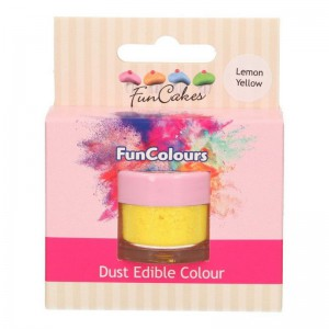 FunCakes Edible FunColours Dust Lemon Yellow