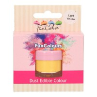 FunCakes Edible FunColours Dust Light Yellow