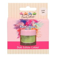 FunCakes Edible FunColours Dust Lime Zest