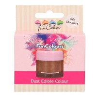 FunCakes Edible FunColours Dust Milk Chocolate