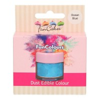 FunCakes Edible FunColours Dust Ocean Blue