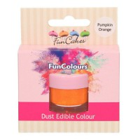 FunCakes Edible FunColours Dust Pumpkin Orange