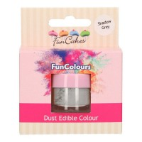 FunCakes Edible FunColours Dust Shadow Grey