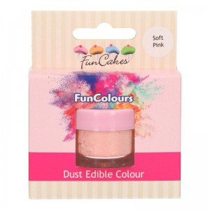 FunCakes Edible FunColours Dust Soft Pink