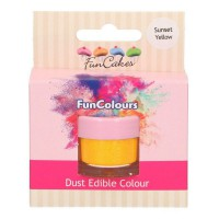 FunCakes Edible FunColours Dust Sunset Yellow