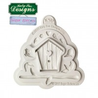 Katy Sue Mould Sugar Buttons Birdhouse