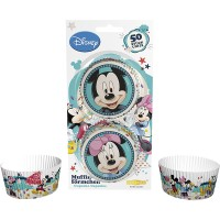 Cupcake Baking Cups Mickey & Minnie -50st-