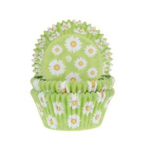 House of Marie Baking Cups Daisy -50st-