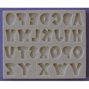 Alphabet Moulds Party Font Alphabet