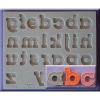 Alphabet Moulds Gradient Fill Alphabet Lowercase