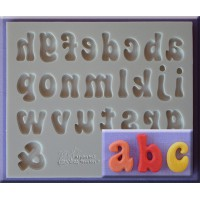 Alphabet Moulds Fun Font Alphabet Lowercase